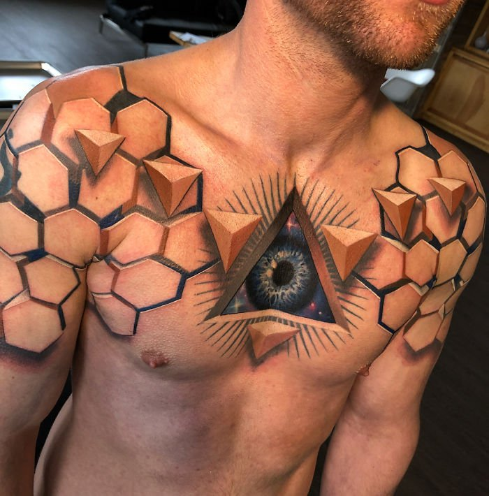 Ditch Boring Tattoos \u0026 Check Out These Mind,Boggling 3D