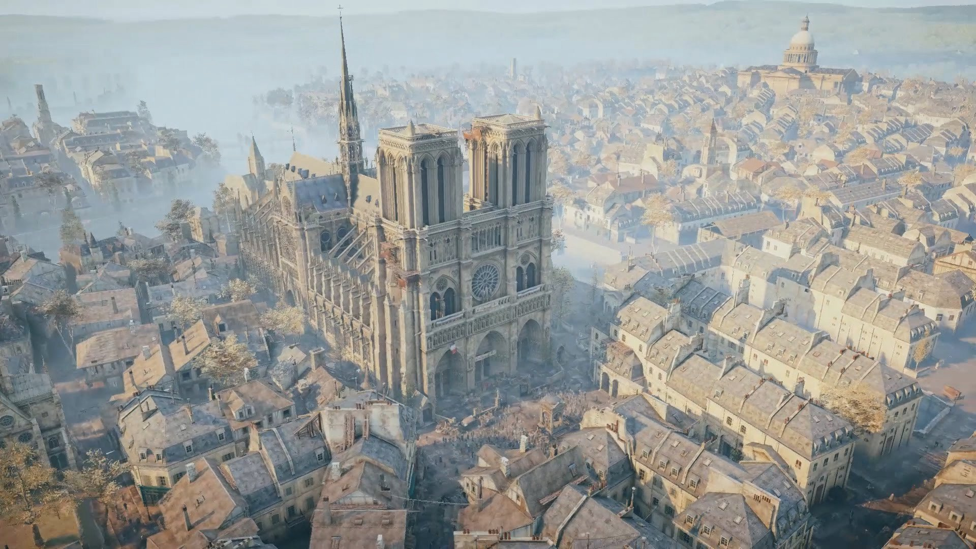 Here S How Assassin S Creed Unity Will Be Used To Help Rebuild