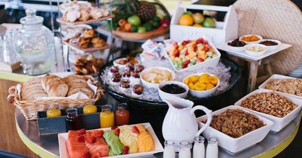 The Best Part Of Any Holiday Is Always The Luxurious Af Breakfast Buffet. Fight Me On It