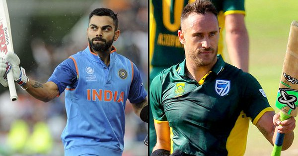 Here's A Head-To-Head Between India & South Africa At The World Cup