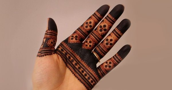 Ditch Your Regular Mehendi Designs & Opt For These Minimalist Styles To Rock This Eid