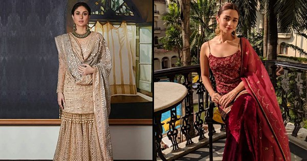 26 Sharara Outfits To Take Inspiration From If You Want To Rock That Eid Party Look
