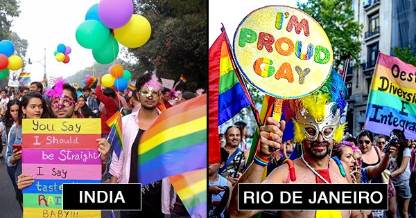 In Pictures: How Gay Pride Month Is Celebrated The World Over, Because Love Is Love