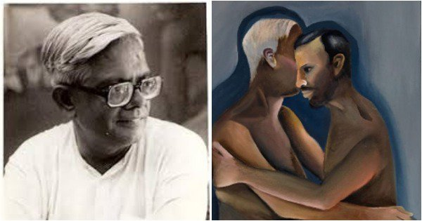 This Old Painting By An Indian Artist Depicting Same Sex Love Sells For A Whopping ₹22 Crore