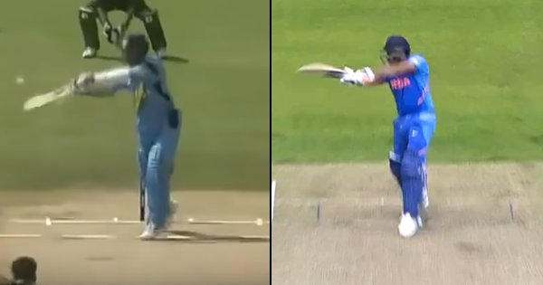 Rohit Sharma's Uppercut Over Point Reminded Everyone Of Sachin's Shot From 2003