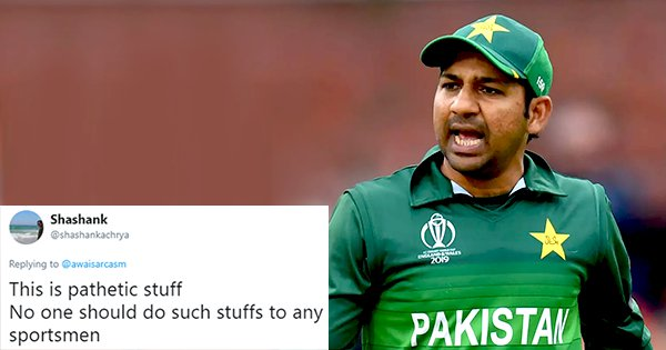 The Internet Is Pissed At This Guy For Publicly Shaming Pakistan Captain Sarfaraz Ahmed
