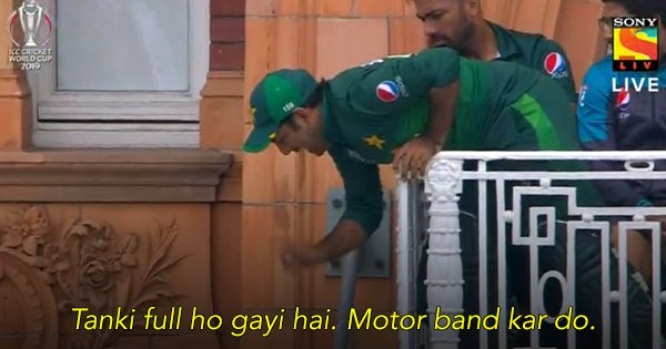 This Picture of Pakistani Captain Sarfaraz Ahmed Has Turned Into A Hilarious Meme Fest On Twitter