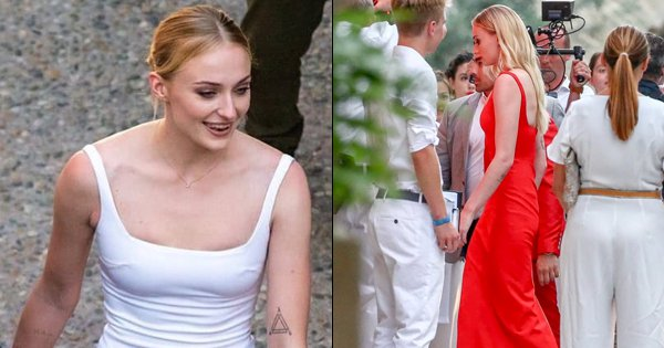 Sophie Turner In Her Ravishing Pre-Wedding Dresses Truly Looks Like The Queen In The North
