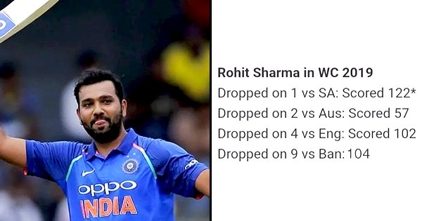 Dropped 4 Times In This World Cup, Rohit Sharma Is Making Sure He's Taking His Second Chances