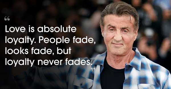 24 Quotes By Sylvester Stallone That Will Inspire You To Take On Life Like A True Fighter