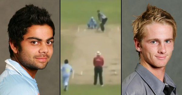 Watch This Old Video Of Virat Kohli Claiming Kane Williamson's Wicket In The U-19 World Cup
