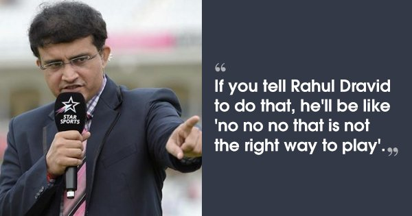 Sourav Ganguly Trolled Dravid, Sachin & VVS, Hilariously Explaining Why His Team Never Sledged