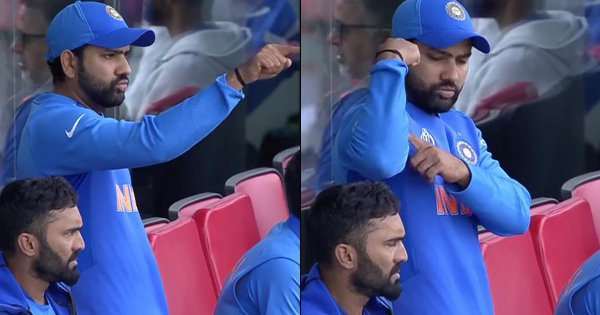 Rohit Sharma Gesturing 'You Are Strong' To Ravindra Jadeja Is What We Needed To Get Through Today