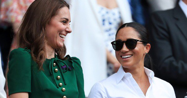 Kate & Meghan Chilling At Wimbledon Finals Together Is Girl Squad Goals: Royal Edition