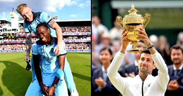 With 2 Thrilling Finals, At Wimbledon & Lord's, Today Was Every Sports Lovers' Dream Come True