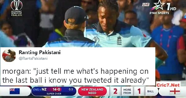 Twitter Can't Get Over How Jofra Archer's Old Tweets May Have Predicted Last Night's WC Final