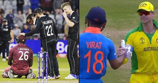 7 Times Cricketers Put 'Gentle' In The Gentlemen's Game With Their Gestures During This World Cup