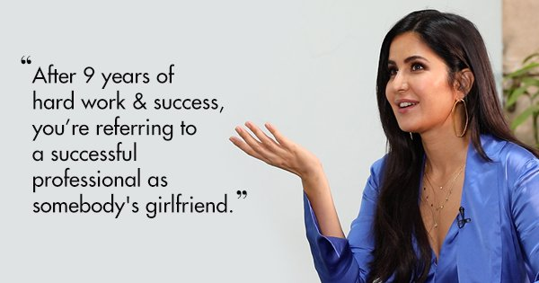 8 Times Katrina Kaif Spoke Her Mind, Giving Us A Masterclass In Wit & Sass