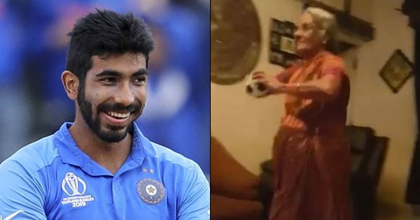 Video Of An Elderly Woman Recreating Jasprit Bumrah's Run-Up Is Absolute Gold. Even Bumrah Agrees