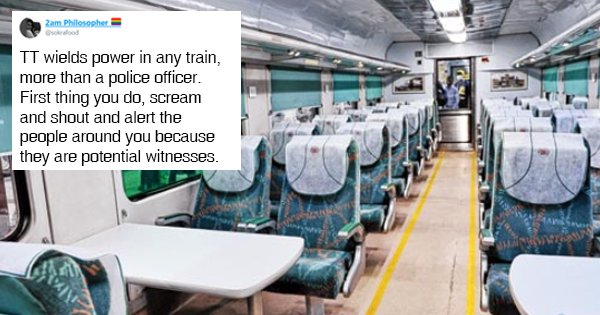 Train Ride From Hell: Woman Shares Story Of Being Molested By A Passenger & How She Got Him Nabbed