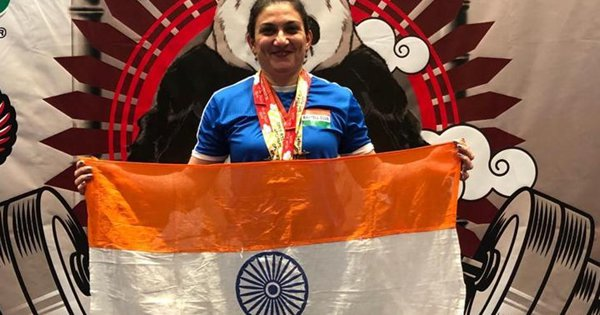At 47, Mother Of Two Wins 4 Gold Medals In Powerlifting At Open Asian Championship In Russia
