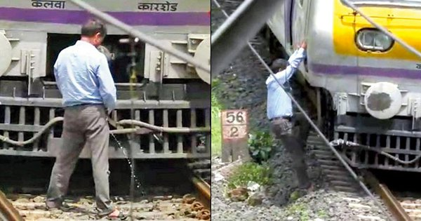 Mumbai Train Operator Stops His Train To Pee On The Tracks, Chooses Nature's Call Over Call Of Duty