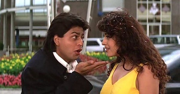 Here's To SRK And Juhi, The Most Underrated Yet Adorable On-Screen Couple Of 90s Cinema
