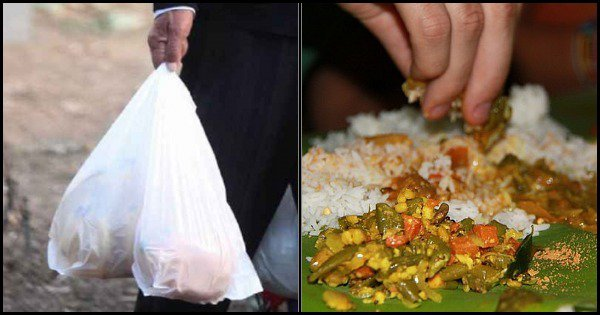 This Unique 'Garbage Cafe' In Chattisgarh Will Give You A Full Meal In Exchange Of Plastic Waste