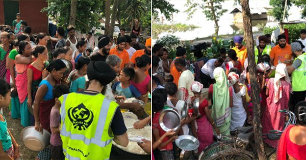 Khalsa Aid Reaches Flood-Hit Assam, Provides Rations To 4,000 People In Distress