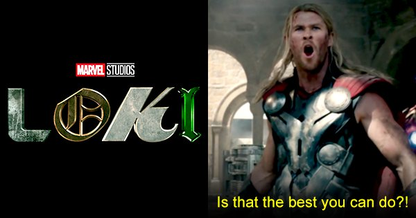 The Logo For Marvel's New Loki Series Has Twitter High-Key Fuming