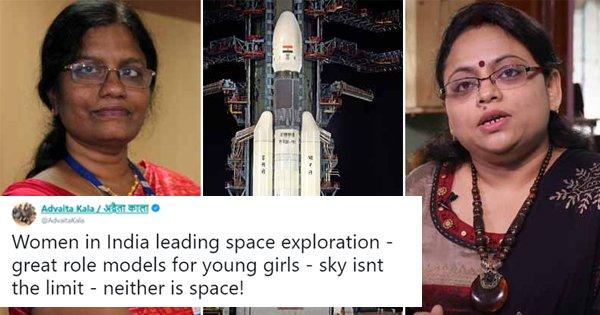 Twitter Hails M Vanitha & Ritu Karidhal, The Women Who Powered India's Mission To The Moon