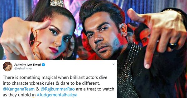 24 Tweets To Read Before Booking Your Tickets For 'Judgementall Hai Kya'