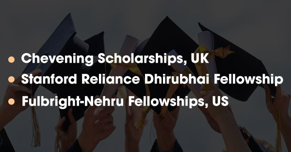 If You Are Planning To Study Abroad, Here Are The Popular Scholarships You Can Choose From