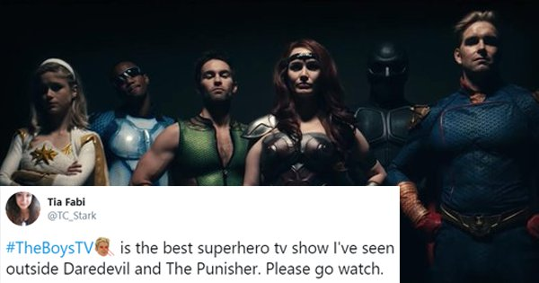 25 Tweets You Need To Read Before You Watch Amazon's 'The Boys'