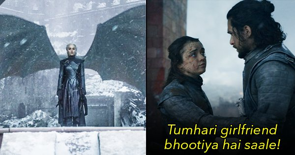 We Swapped GoT Scenes With Stree Dialogues & Honestly, It's An Improvement From Season 8