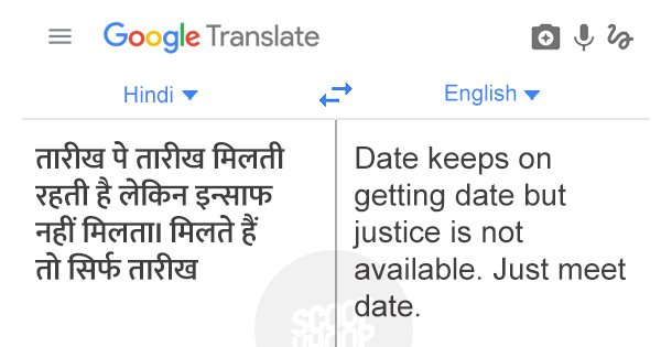 We Put Iconic Bollywood Dialogues Through Google Translate & Got Even More Epic Dialogues