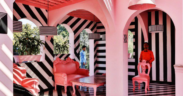 This Surreal Wes Anderson Inspired Café In Kanpur Is What Every Insta-Lover's Dreams Are Made Of