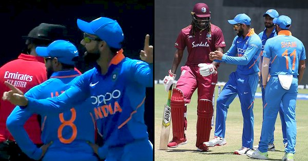 Kohli's On-Field Dancing Was The Best Part About India's Washed Out ODI Against Windies