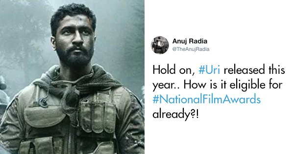 Twitter Is Wondering Why 'Uri: Surgical Strike' From 2019 Won At The National Awards 2018