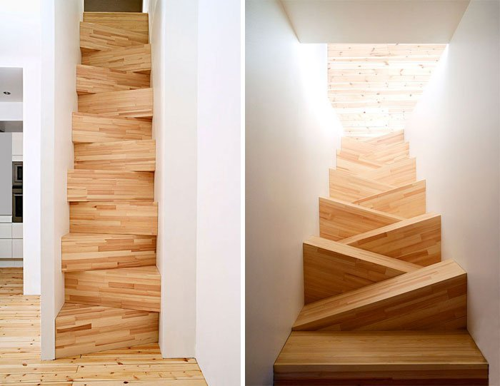 These Sloping Stairs