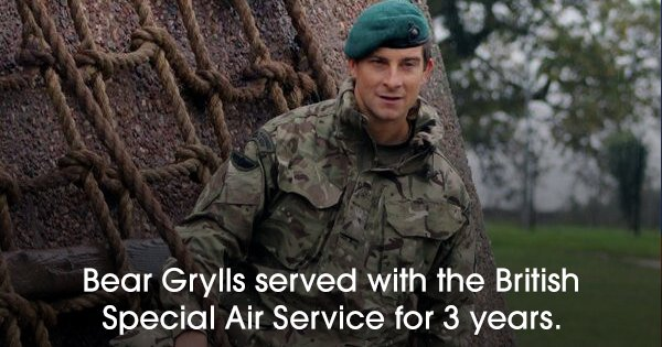 20 Facts About Bear Grylls That Prove He's The Only Man Who Can Take On 'The Wild'
