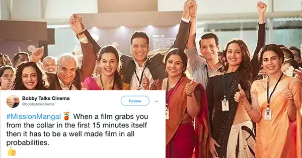 20+ Tweets To Read Before Booking Your Tickets For 'Mission Mangal'