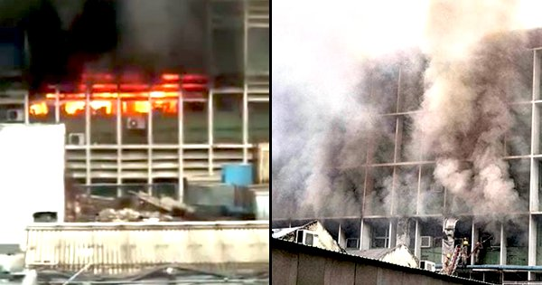 AIIMS Fire Brought Under Control After 5 Hours, 'Biggest Fire Incident' Says Resident Doctor