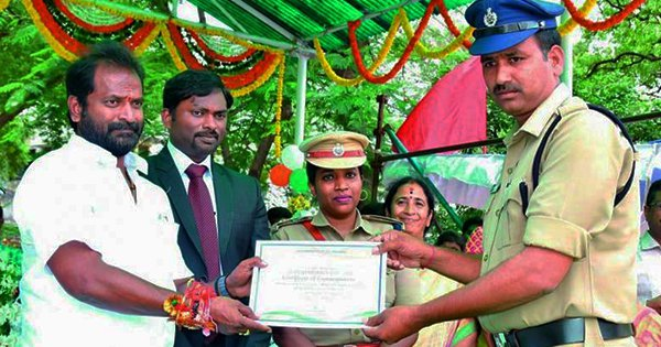 One Day After Winning 'Best Constable' Award, Telangana Cop Arrested For Taking Bribe Of ₹17,000