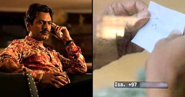 Netflix Had To Apologise To Someone After Accidentally Sharing Their Number In Sacred Games 2