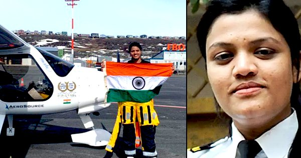 Aarohi Pandit Scripts History, Becomes World's 1st Woman To Fly Solo Over Atlantic & Pacific Ocean