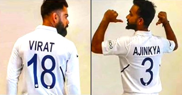 Team India Shines In New Numbered Jerseys Before The Start Of Test Series Against West Indies