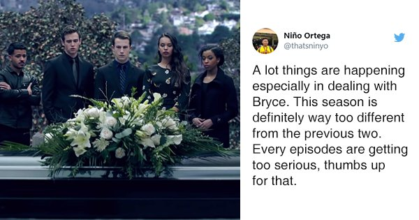 16 Tweets To Read Before Watching Season 3 Of '13 Reasons Why'