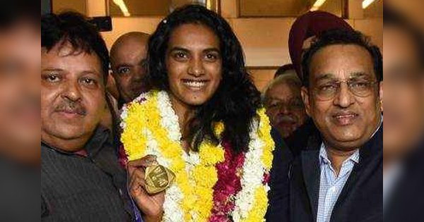 World Champion PV Sindhu Returns Home To Hero's Welcome, Says She'll Win More Medals For India