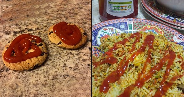 20 Photos That Prove Ketchup Lovers Are Destroying The World One Dish At A Time
